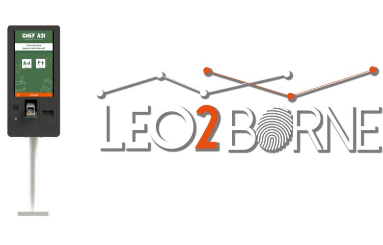 Nouveau : Borne de commande interactive connectée Leo2Borne